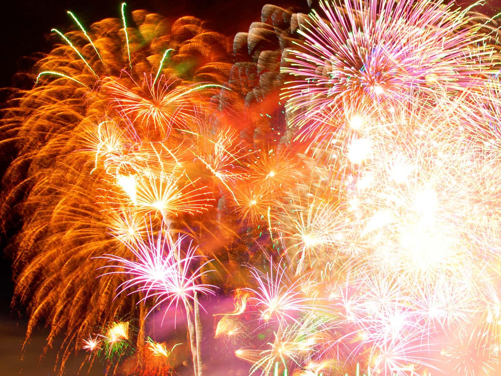 Fuochi d'artificio al River's Food Festival
